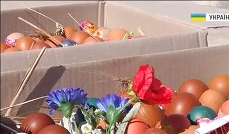 Свет Пасхальных праздников. Бойцы АТО получат 15 тыс. крашанок  (ВИДЕО)