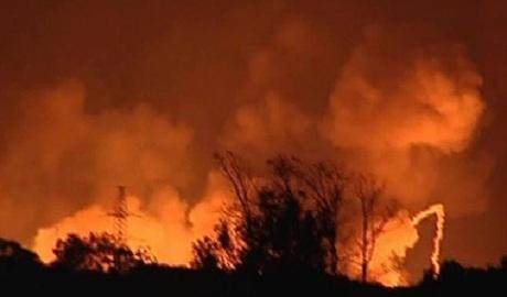 Возле Чернобыльской АЭС возник лесной пожар: ГСЧС сообщает сразу о трех очагах