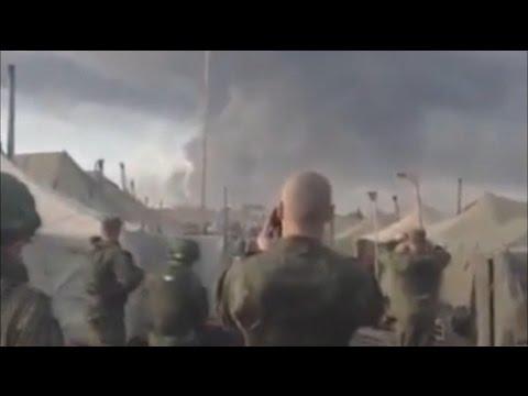 В сети появилось видео взрыва на ростовском полигоне