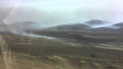 В Забайкалье деревня сгорела буквально за несколько минут ВИДЕО
