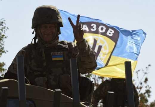 Так будет с каждым террористом: Бойцы полка «АЗОВ» обнародовали видео уничтожение минометного расчета боевиков ВИДЕО