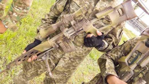 Асталависта — сепаратиста: Снайперы 79-й бригады получили модернизированные винтовки ФОТО