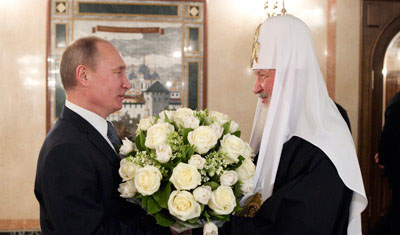 После смерти Путина причислят к лику святых, – патриарх Кирилл