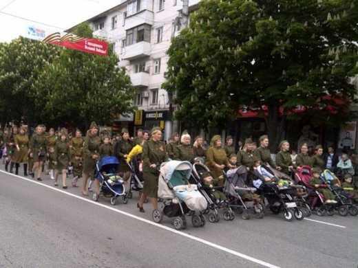Фрик-шоу в честь Дня Победы: Крым пробил дно ФОТО