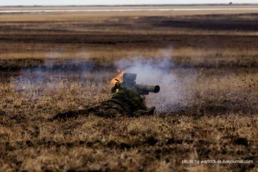Получай рашист с ПТУРа: Как воины ВСУ успокоили зарвавшихся боевиков ВИДЕО