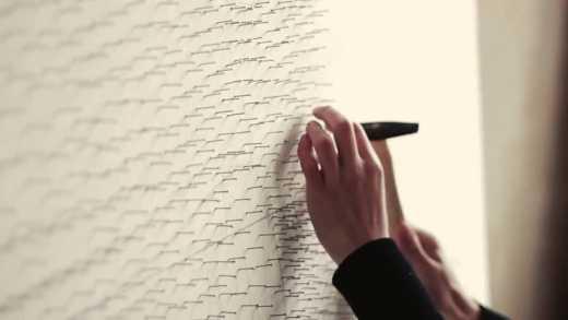 Изумительно! Украинец используя нитки и гвозди создал шедевр ВИДЕО