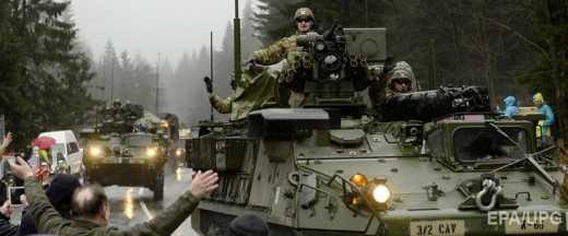Американские войска заявили о готовности нанести удар в ответ на агрессию со стороны РФ