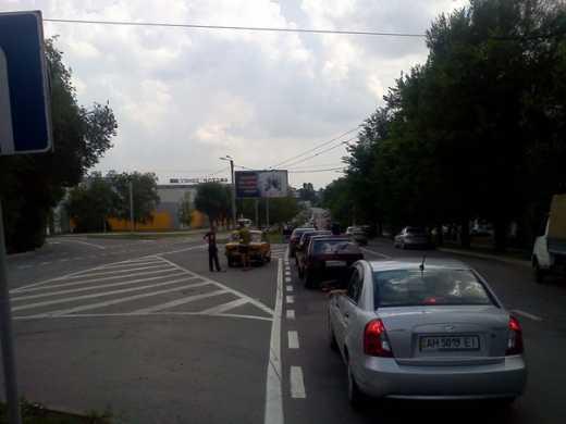 Донецк остался без бензина