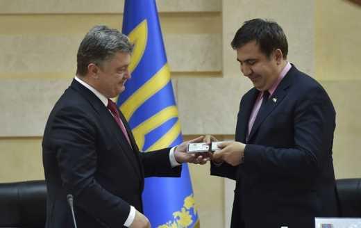 Саакашвили, Партия регионов и Антимайдан