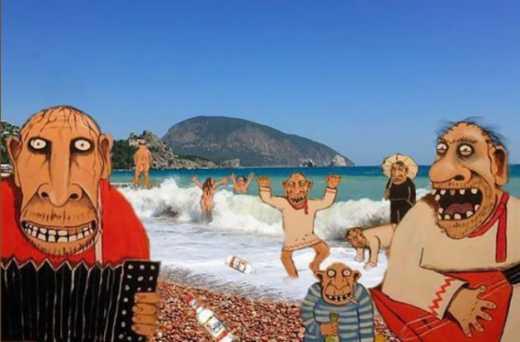 """Крымчане очень радуются затопленному Сочи: """"Теперь туристы поедут к нам"""""""