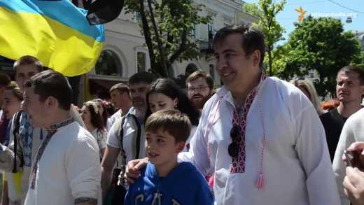 """В РФ есть адекватные люди! 68% читателей """"Эхо Москвы"""" хотят, чтобы Саакашвили возглавил их регион"""