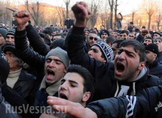 В Армении начался Майдан?