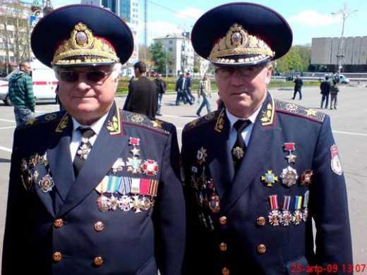 РФия отправляет на Донбасс пенсионеров
