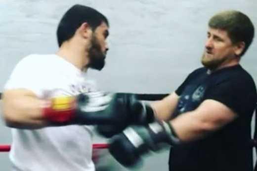 Кадыров желает реванша с бойцом СОБРА, который сломал ему ребро
