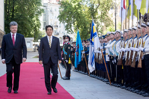 Япония готова инвестировать в Украину $1,5 миллиарда