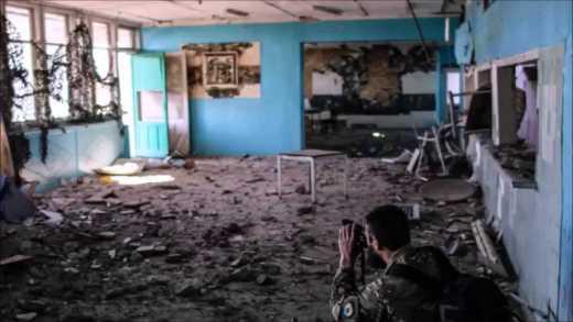 """Бойцы полка """"Азов"""" в Широкино – видеоряд американского фотографа (видео)"""