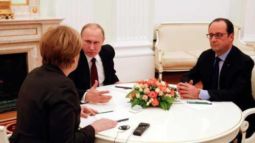Теперь понятно, зачем в феврале к Путину ездили Меркель и Олланд