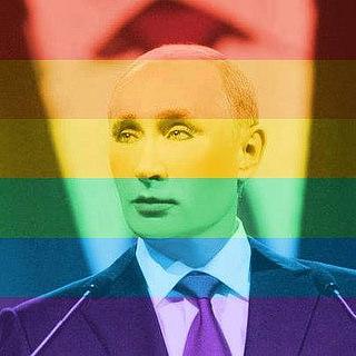 путин в авторитете у британских геев (Видео)