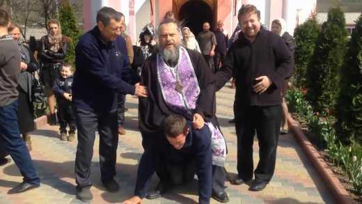 Рузкемир. Изгнание беса в Приднестровье православным батюшкой.