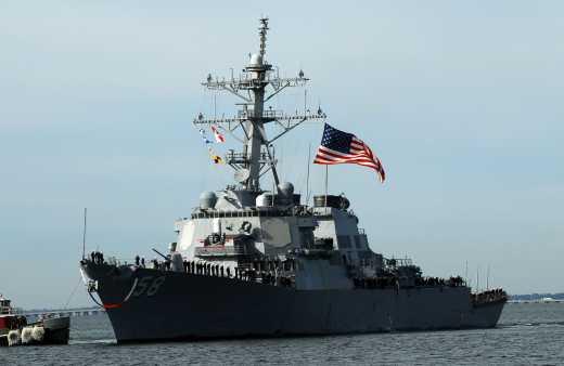 Ни дня без эсминцев США в Черном море!