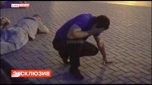 В сети появилось видео с задержания Павла Губарева ВИДЕО