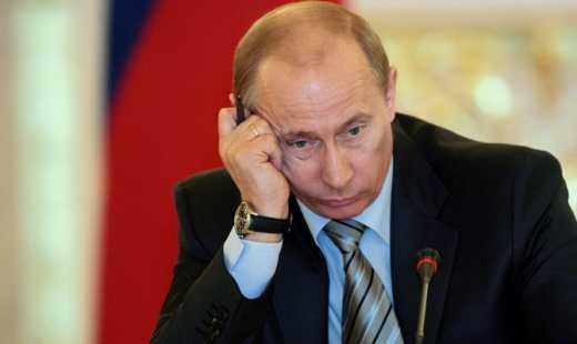 Идет процесс утилизации Путина
