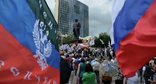 «Приятного аппетита»: очередной путинский «гумконвой» привез агитацию за «Новороссию» и флаги террористов Донбасса — ОБСЕ