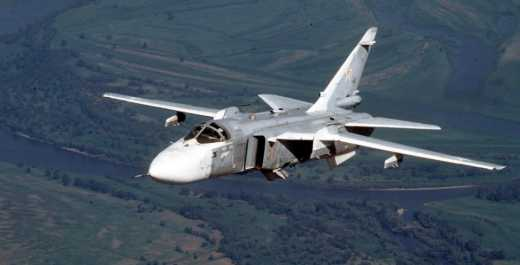 В России снова разбился бомбардировщик