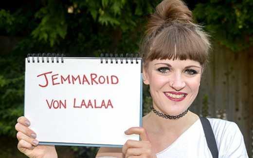 Джеммароид фон Лаалаа : Британка сменила имя, чтобы возобновить доступ в facebook