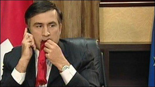 Саакашвили считает Грицака достойным кандидатом на пост главы СБУ