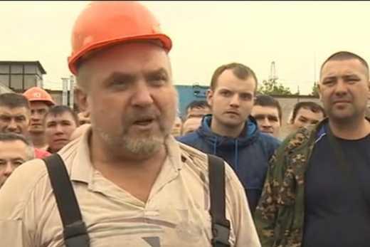Что нам санкции? В Москве из-за невыплаты заработной платы работники метро вышли на забастовку
