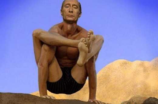 Амфоры и стерхи все: Путин решил заняться йогой