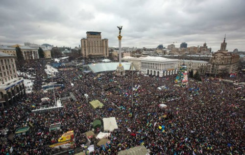 Ляшко и Самопомощь могут перехватить голоса Майдана?