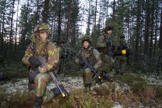 """Финляндия паникует в ожидании """"зеленых человечков"""""""
