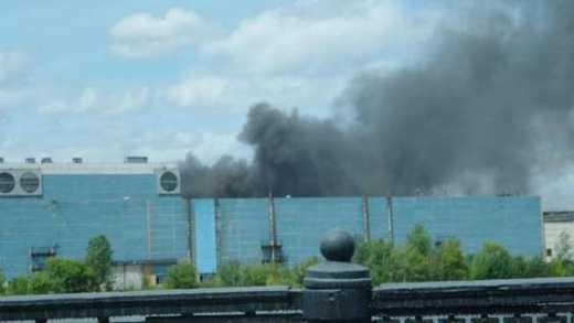 Знак свыше! В Москве горит склад з шинами