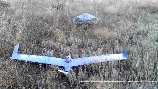 """Украина сбила российский беспилотник """"Застава"""", он же израильский """"Bird Eye 400″ стоимостью в 2 млн."""