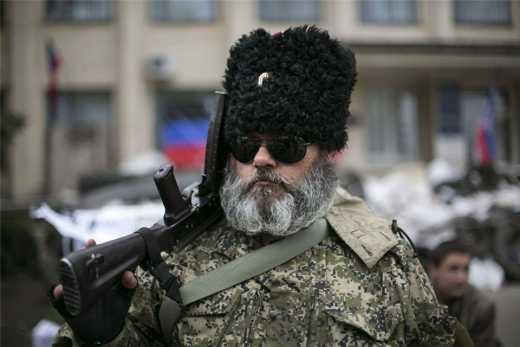 Казак Бабай вернулся домой из Донбасса и голодает