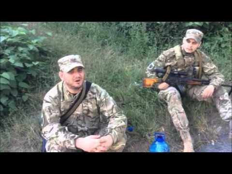 Мукачевские бойцы Правого Сектора записали видеообращение, в котором рассказали свою версию событий ВИДЕО