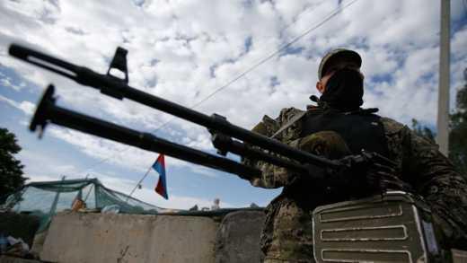 """Боевики террористической """"ДНР"""" готовят наступление на позиции ВСУ в Марьинке."""