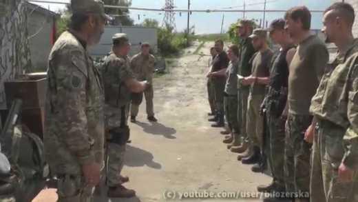 """Пам'яті Сергія """"Гріна"""" Шилова, командира роти 8 ОБАТ ДУК """"Правий сектор"""""""
