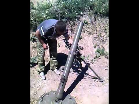 Рашистские миномётчики стреляют на глаз (видео, +18 ненормативная лексика.)