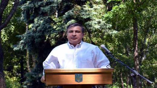 Саакашвили бросил вызов Коломойскому ВИДЕО
