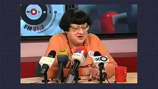 Валерия Новодворская в 2008г предсказала судьбу Крыма и Донбасса (видео)