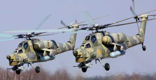 Вертолеты ВВС РФ вторглись на территорию Грузии