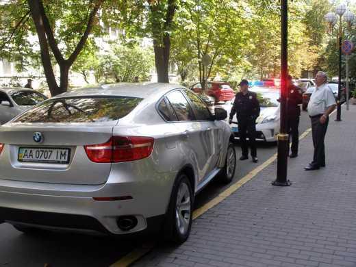 Как патрульная полиция Киева выписала штраф прокурору из ГПУ, — блогер (фото)