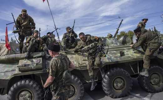 С Дебальцево выводят технику и живую силу рашистов, — боец батальона «Киев-2»