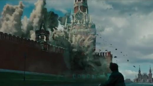 Мелочь, а приятно! Фрагмент разрушенного Кремля вызвал аплодисменты зала