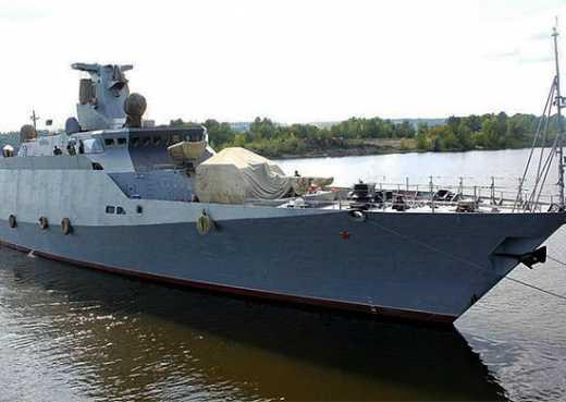 Россия перебросила в Новоросийск новейший ракетный корабль