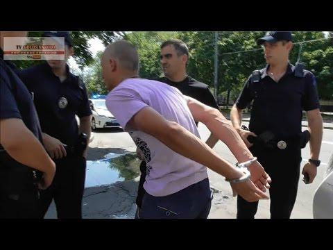 """""""Пошли на х#й бандеры!"""" Киевская полиция задержала сепаратиста-наркомана из Луганска ВИДЕО"""