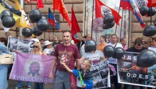 «Начали с Хиросимы, закончили Донбассом»: адский перформанс россиян под посольствами США и Украины  ФОТО